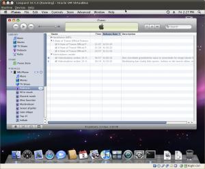 iTunes detecting iPhone.